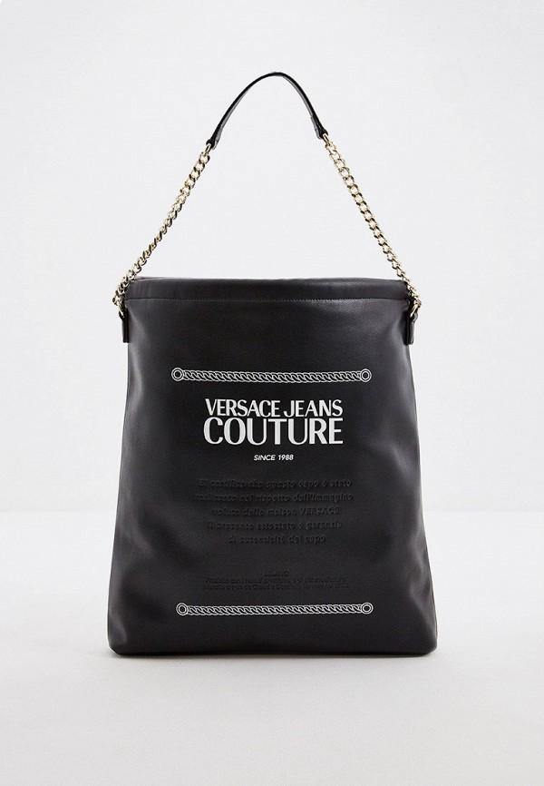 женская сумка versace, черная