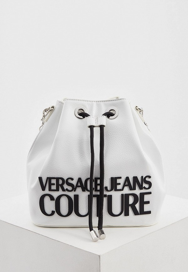 женская сумка versace, белая