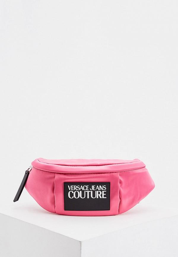Сумка поясная Versace Jeans Couture Versace Jeans Couture VE035BWHYSK3 сумка поясная versace jeans couture versace jeans couture ve035bwhysk3