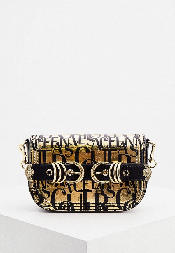 женская сумка versace, золотая