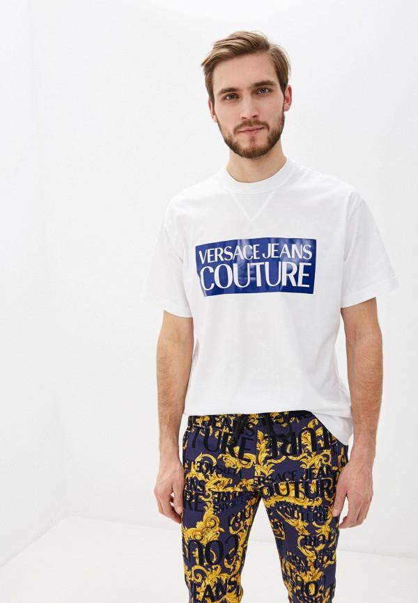 Футболка Versace Jeans Couture Versace Jeans Couture VE035EMHYSM8 футболка versace jeans couture versace jeans couture ve035ewhyto0