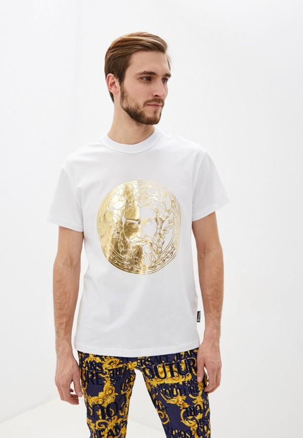 Футболка Versace Jeans Couture Versace Jeans Couture VE035EMHYSN5 футболка versace jeans couture versace jeans couture ve035ewhyto0
