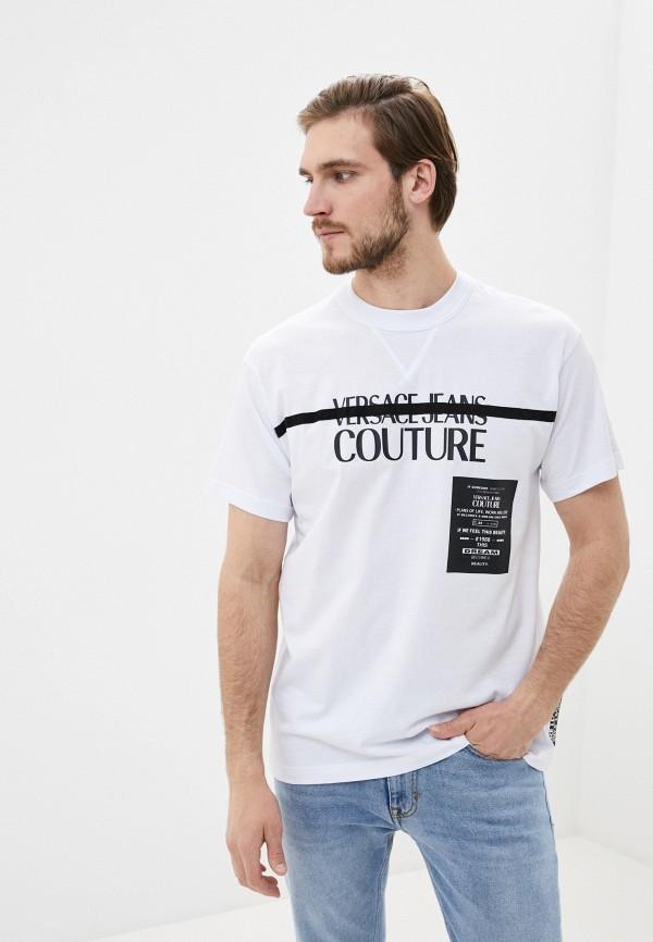 мужская футболка versace, белая