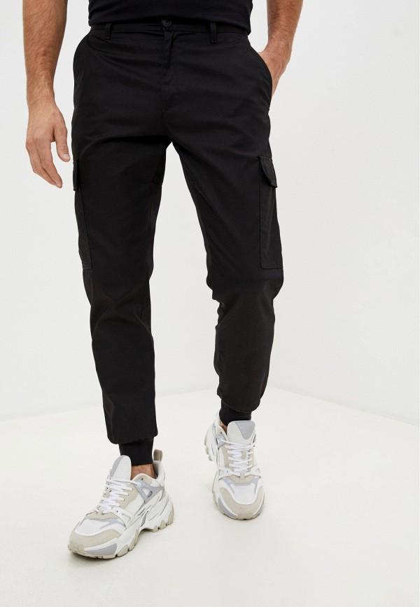 мужские повседневные брюки versace, черные