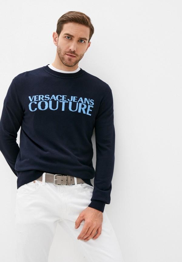 мужской джемпер versace, синий
