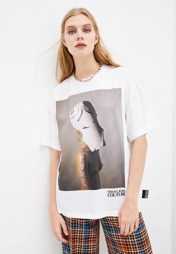 Футболка Versace Jeans Couture Versace Jeans Couture VE035EWGIYK8 поло versace jeans couture versace jeans couture ve035emgiyq5