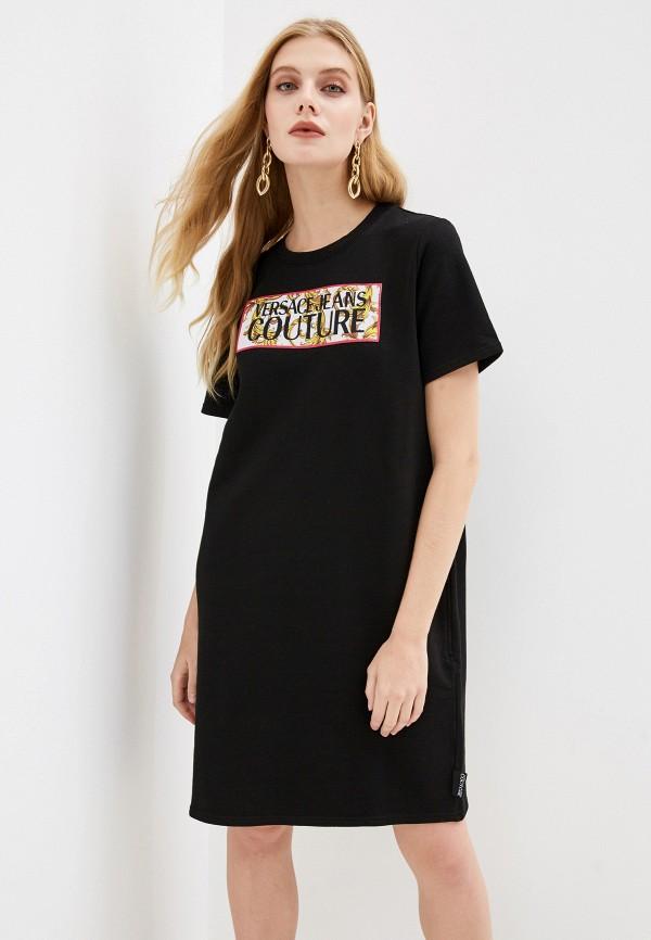 Платье Versace Jeans Couture Versace Jeans Couture VE035EWGUZY9 цена