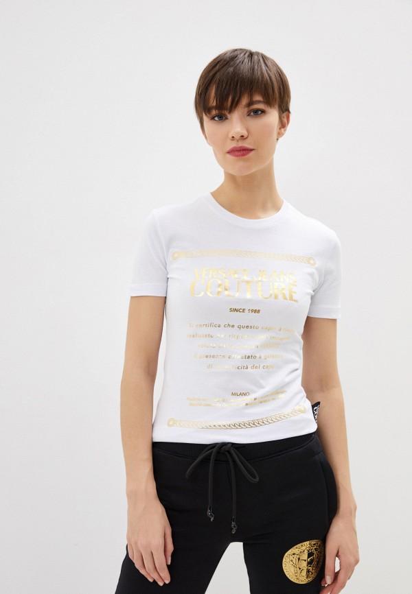 Футболка Versace Jeans Couture Versace Jeans Couture VE035EWHYTN8 футболка versace jeans couture versace jeans couture ve035ewhyto0