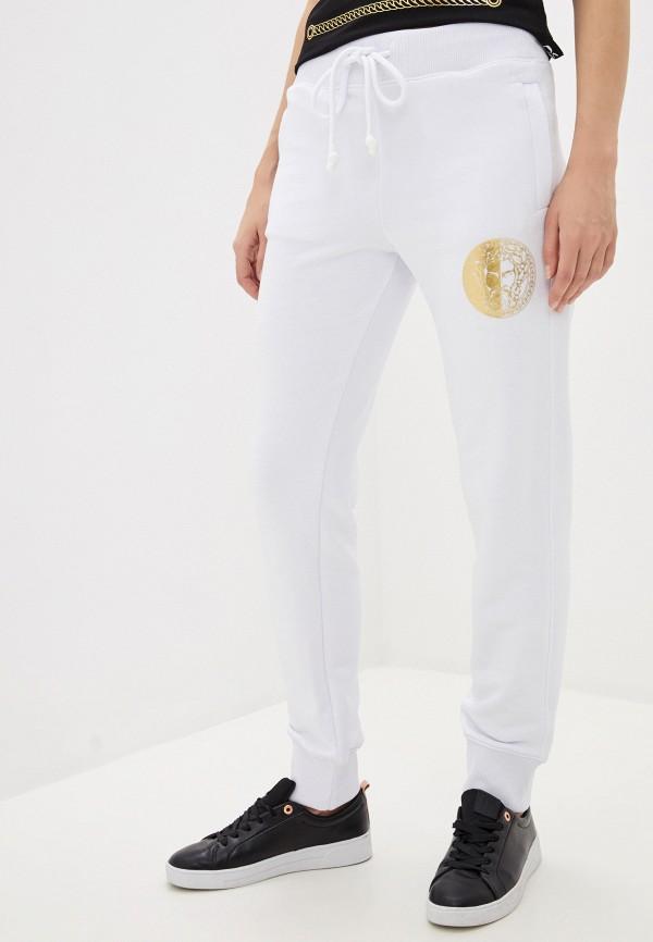 женские спортивные брюки versace, белые