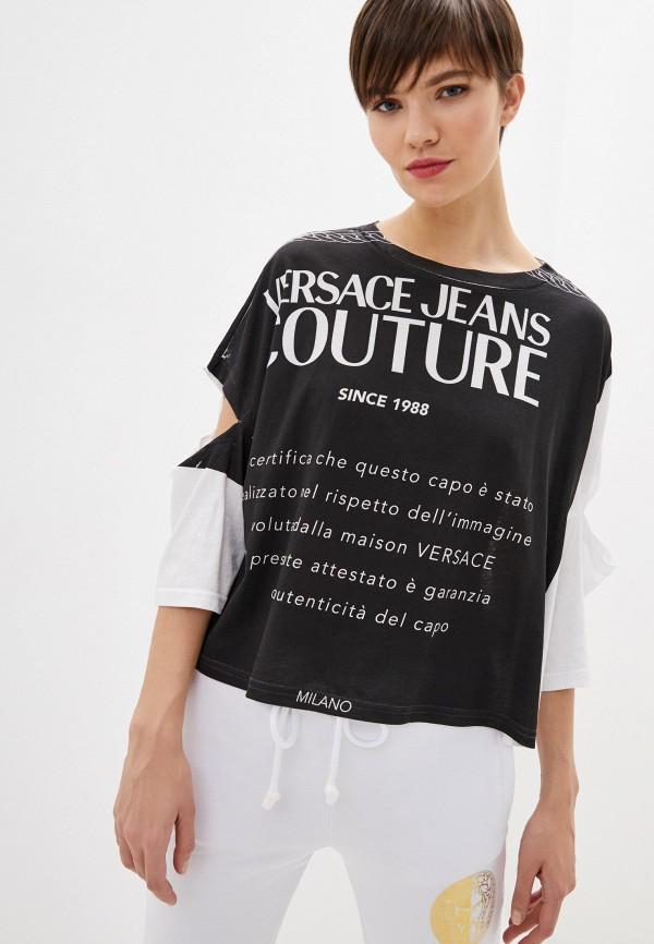 Футболка Versace Jeans Couture Versace Jeans Couture VE035EWHYTP1 футболка versace jeans couture versace jeans couture ve035ewhyto0