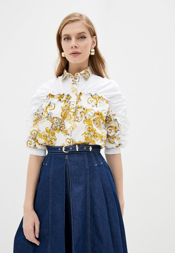 женская блузка versace, белая