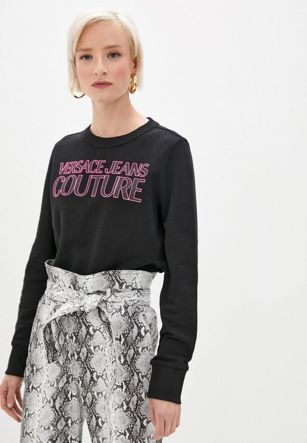 женский свитшот versace, черный