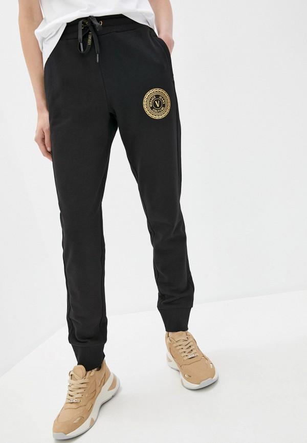 женские спортивные брюки versace, черные