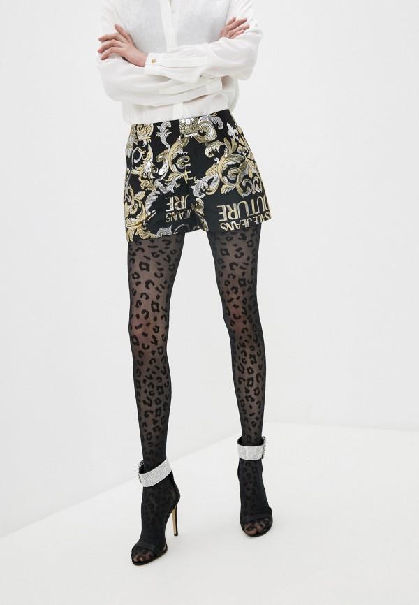 женские повседневные шорты versace, черные