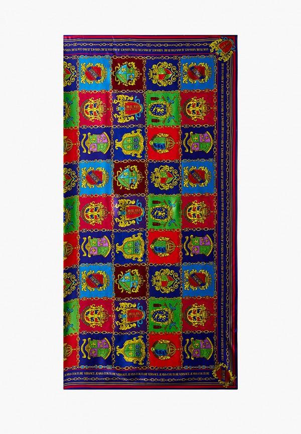 женский платок versace, разноцветный