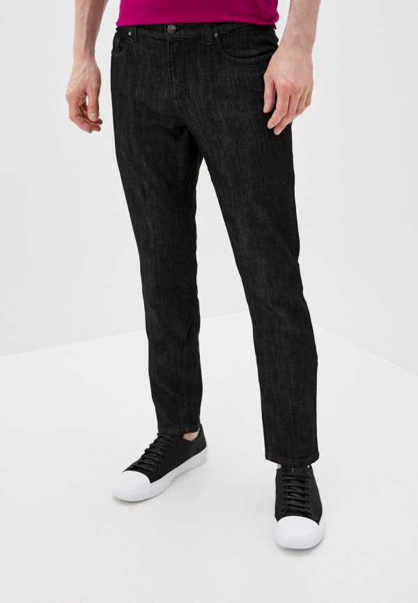 мужские прямые джинсы versace, черные