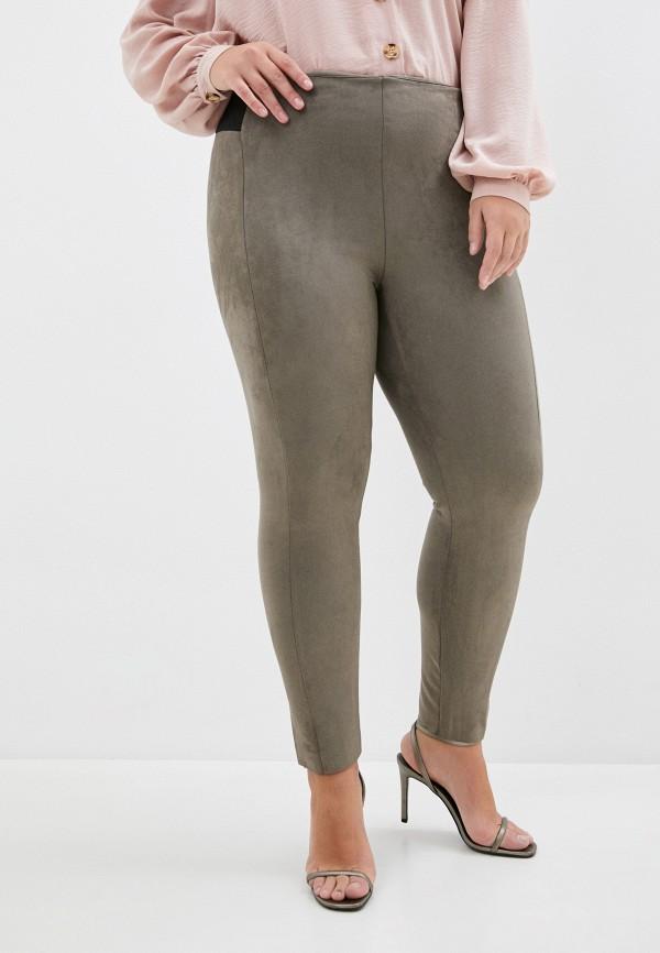 женские леггинсы vero moda curve, хаки