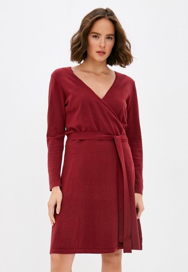 женское платье vero moda curve, красное