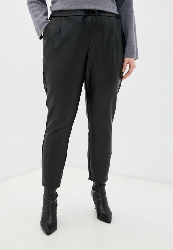 женские брюки vero moda curve, черные