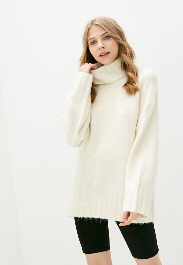 женский свитер vero moda curve, белый