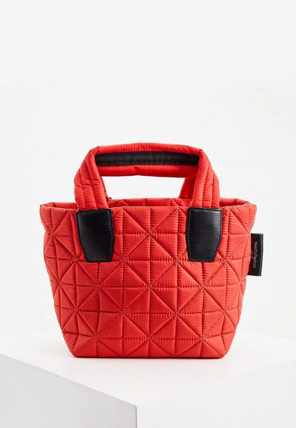 женская сумка veecollective, красная