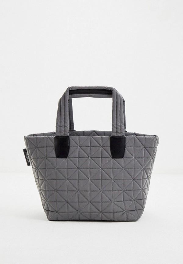 женская сумка-шоперы veecollective, серебряная