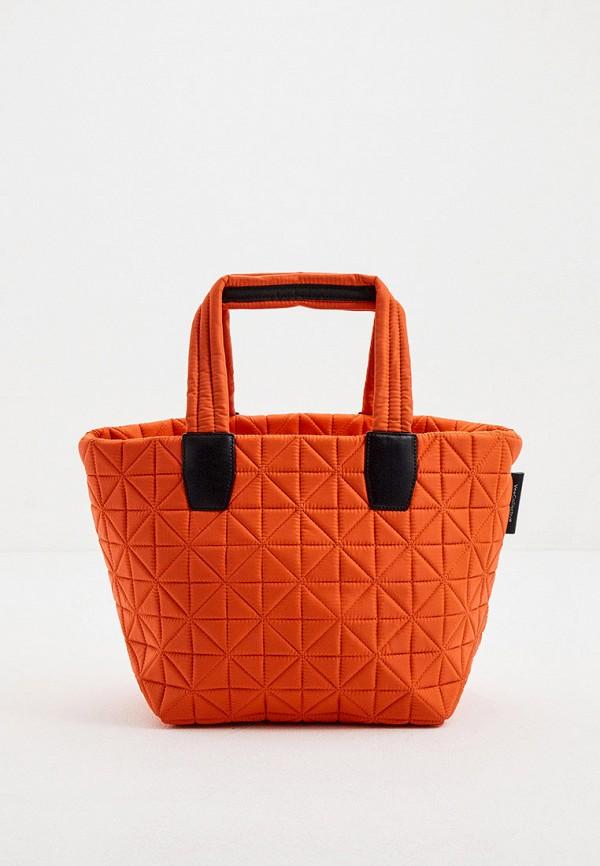 женская сумка veecollective, оранжевая
