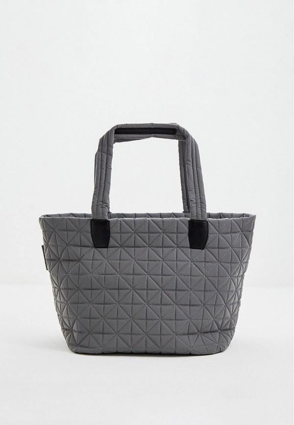 женская сумка-шоперы veecollective, серая