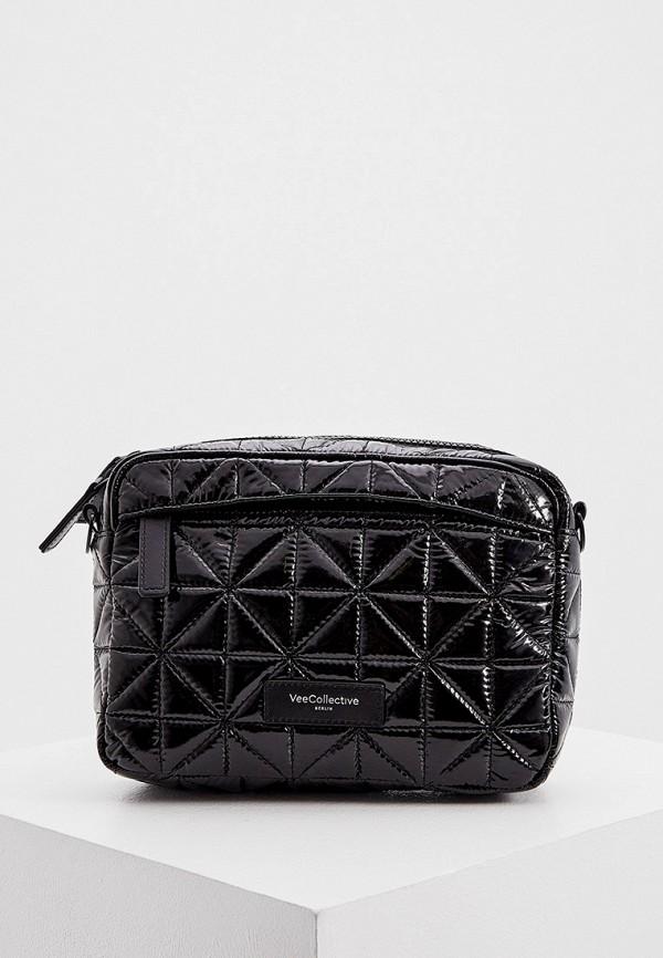 женская сумка veecollective, черная