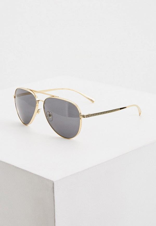 Очки солнцезащитные Versace золотого цвета