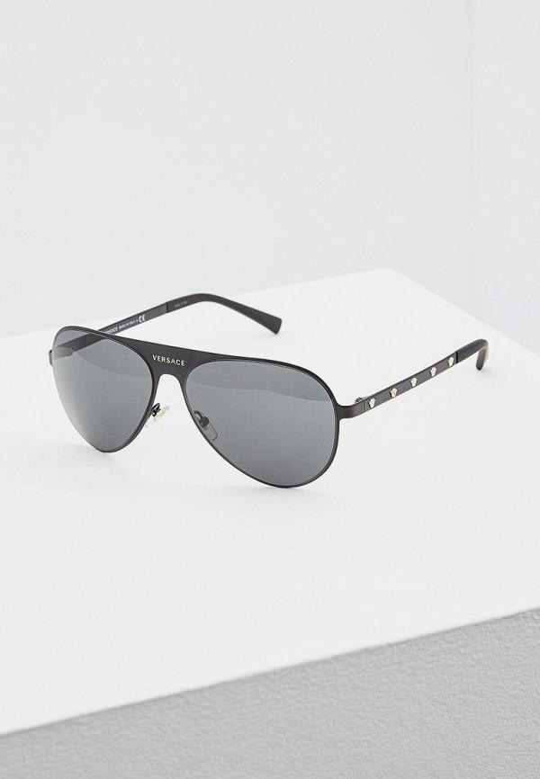 Очки солнцезащитные Versace Versace VE110DWATBI8 сумка baldinini 672050 nero