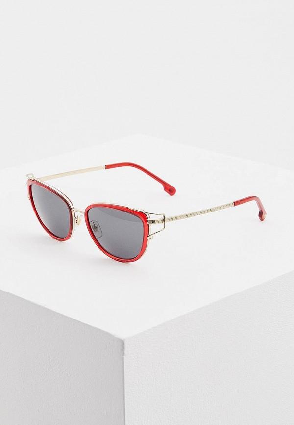 женские солнцезащитные очки кошачьи глаза versace, серые