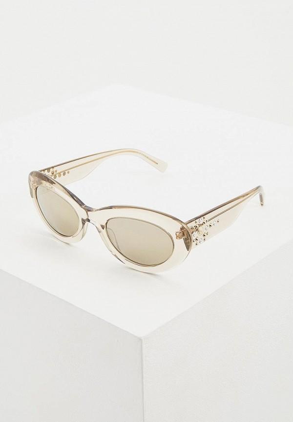 женские солнцезащитные очки кошачьи глаза versace, золотые