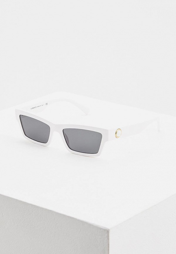 Купить Очки солнцезащитные Versace белого цвета