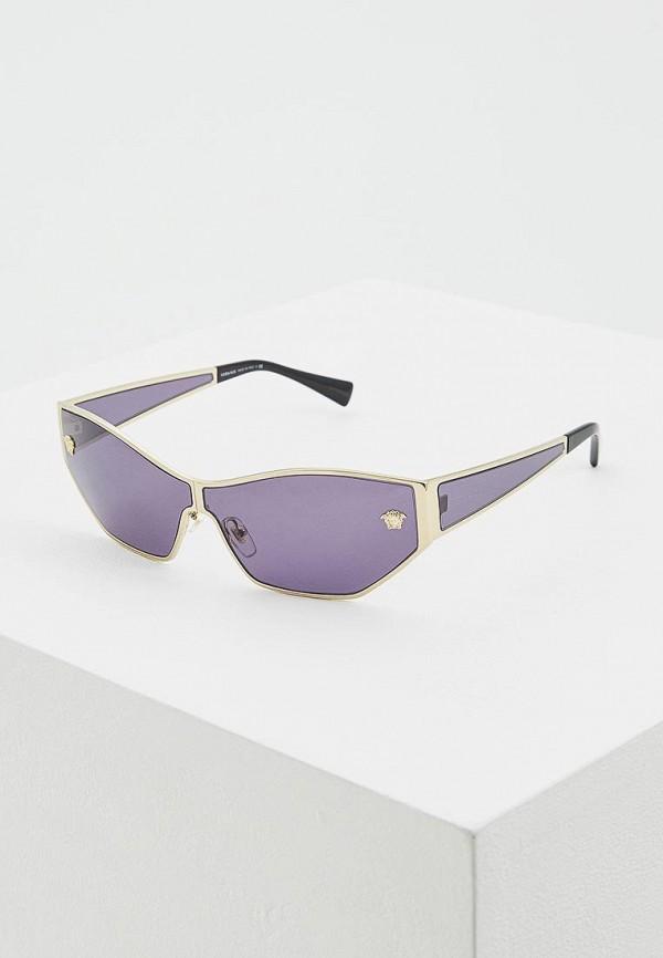 Очки солнцезащитные Versace Versace VE110DWDBDU5 очки солнцезащитные versace versace ve110dwely06