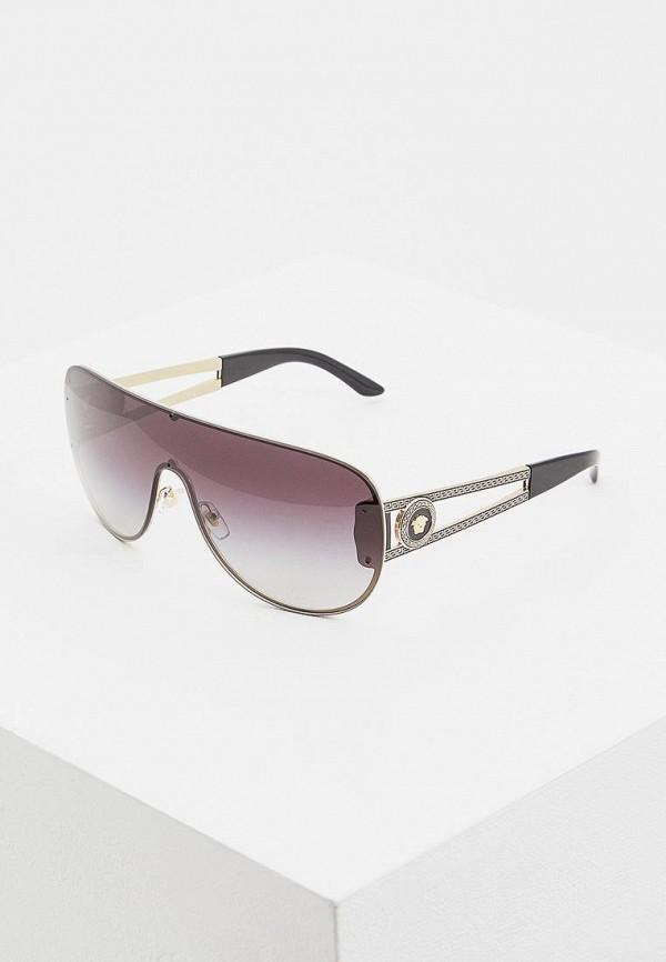 женские солнцезащитные очки versace, золотые