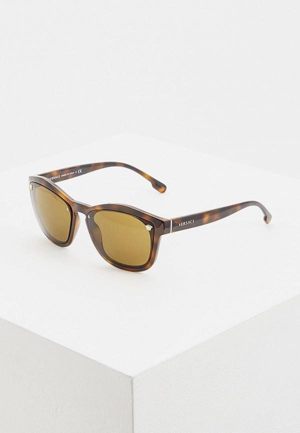 Очки солнцезащитные Versace Versace VE110DWDRYM2 брюки versace 19 69 цвет коричневый