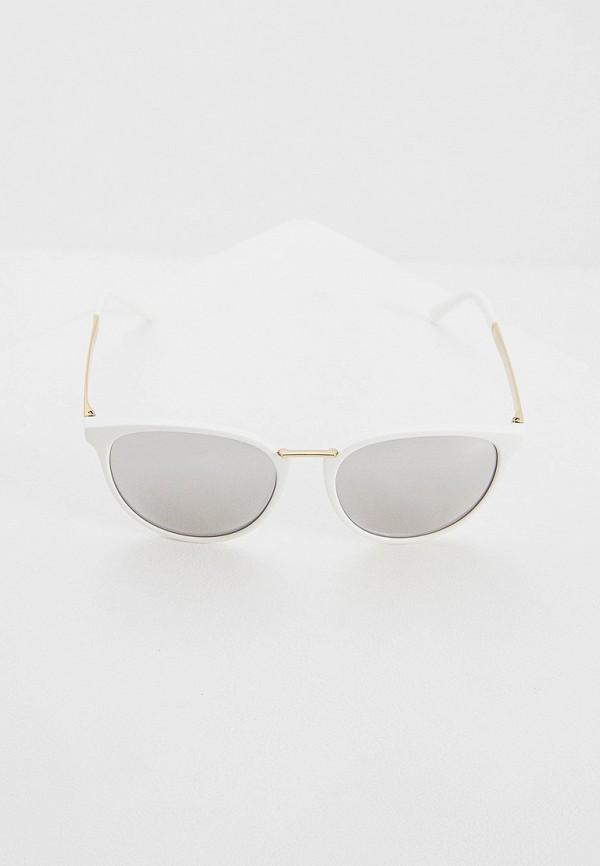 Фото 2 - Очки солнцезащитные Versace белого цвета