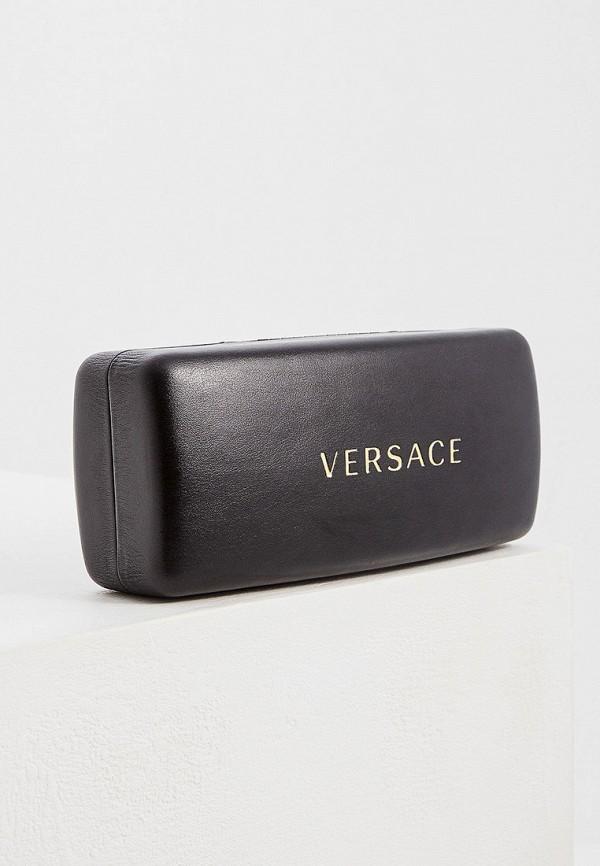 Фото 5 - Очки солнцезащитные Versace золотого цвета