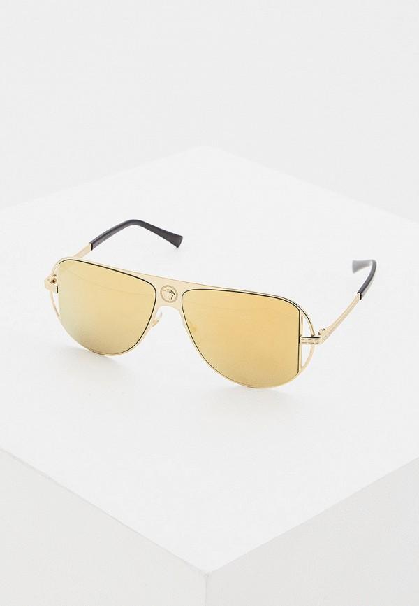 Очки солнцезащитные Versace Versace VE110DWFTWP8 очки солнцезащитные versace versace ve110dwdbdt4