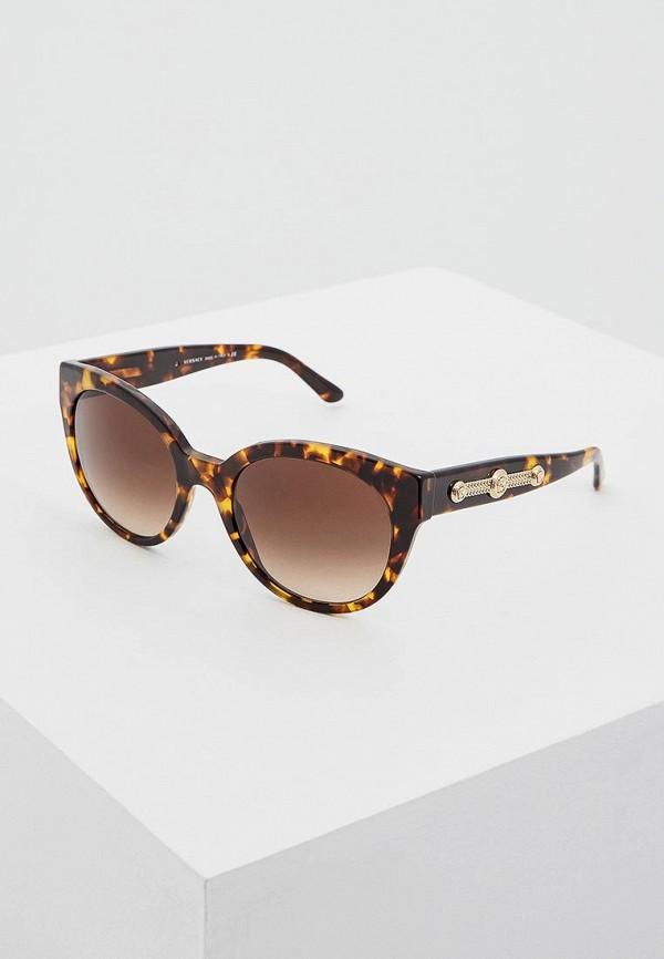 Очки солнцезащитные Versace Versace VE110DWHGG23 брюки versace 19 69 цвет коричневый