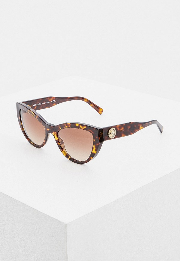 Очки солнцезащитные Versace Versace VE110DWHIHK5 очки солнцезащитные versace versace ve110dwdbdt4