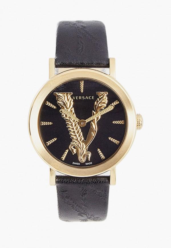 женские часы versace, черные