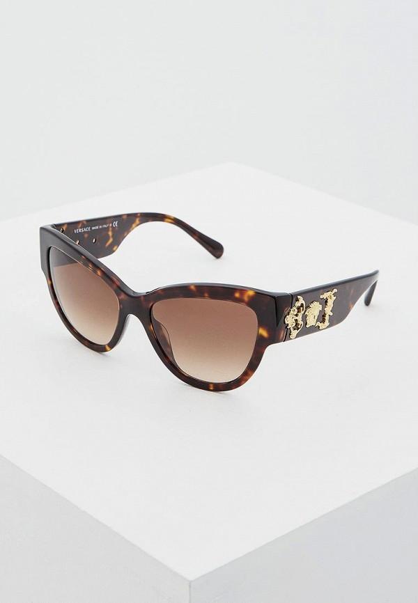 Очки солнцезащитные Versace Versace VE110DWSSX39 брюки versace 19 69 цвет коричневый