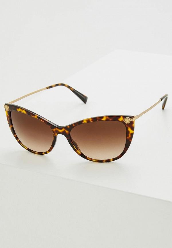 Очки солнцезащитные Versace Versace VE110DWZAY58 брюки versace 19 69 цвет коричневый