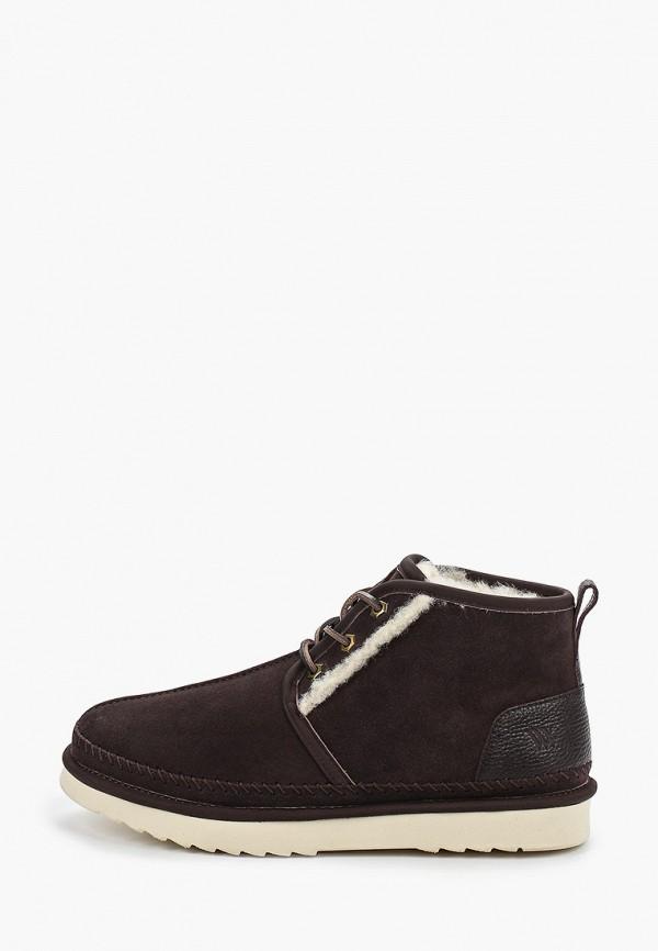 мужские ботинки vera victoria vito, коричневые