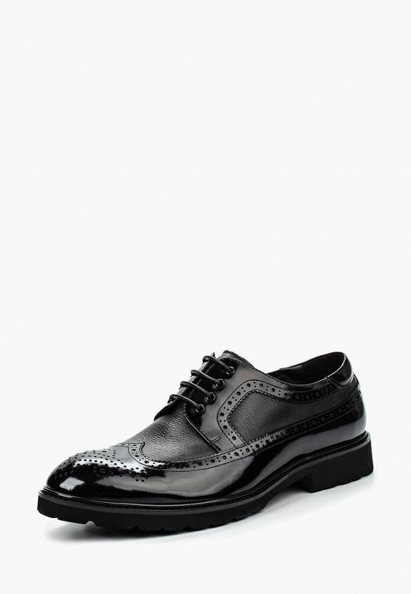 Фото 9 - мужские туфли Vera Victoria Vito черного цвета