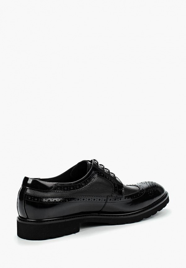 Фото 10 - мужские туфли Vera Victoria Vito черного цвета