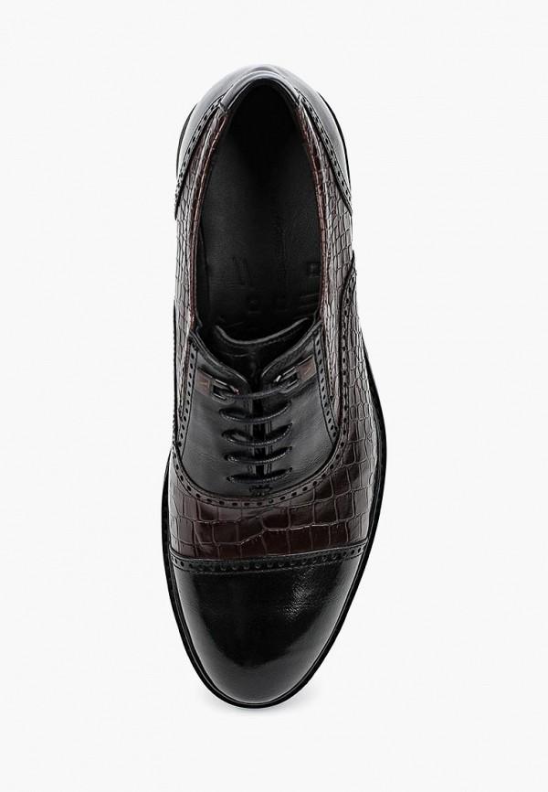 Фото 4 - мужские туфли Vera Victoria Vito коричневого цвета