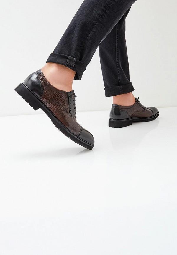 Фото 5 - мужские туфли Vera Victoria Vito коричневого цвета